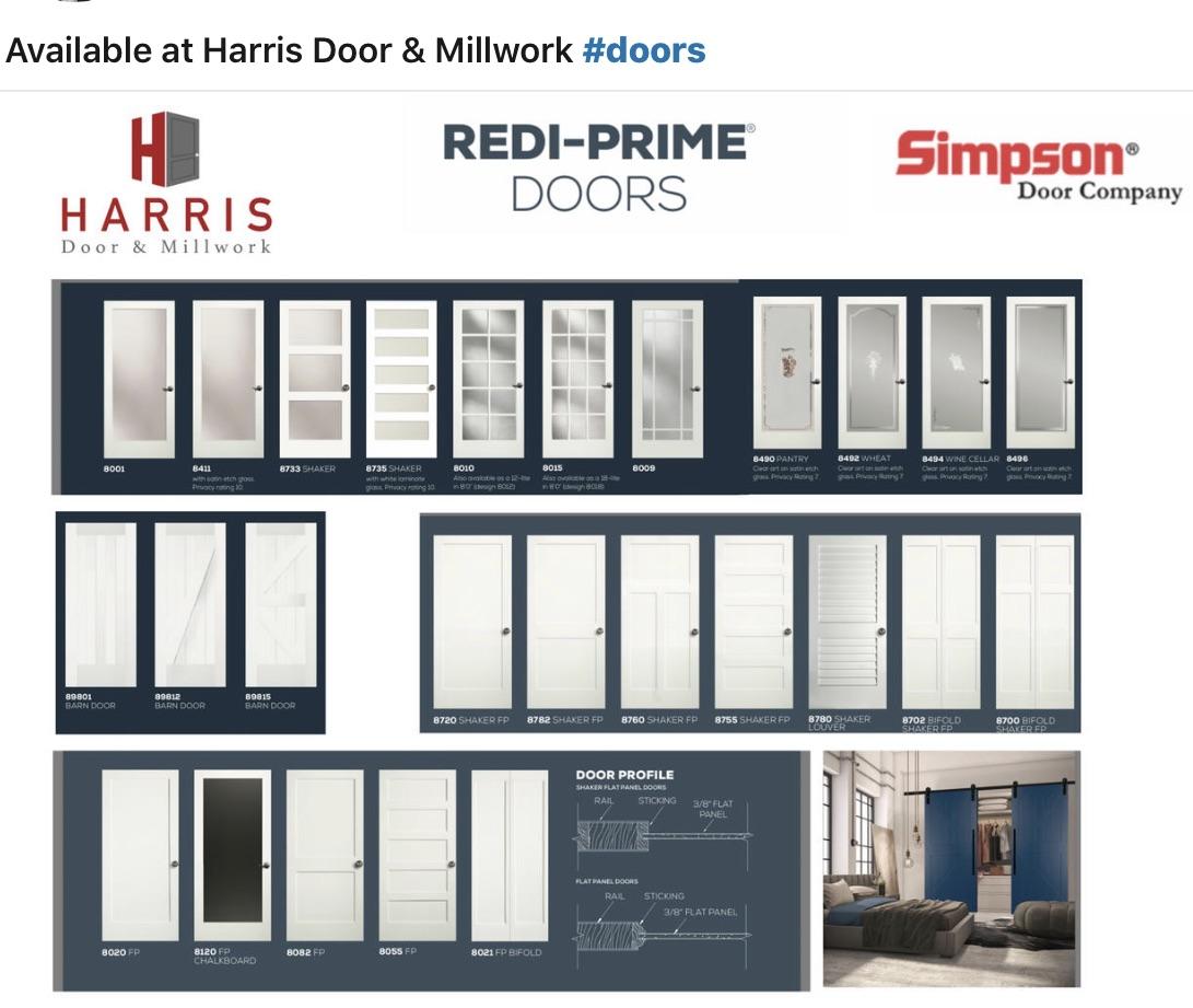 REDI-PRIME DOORS