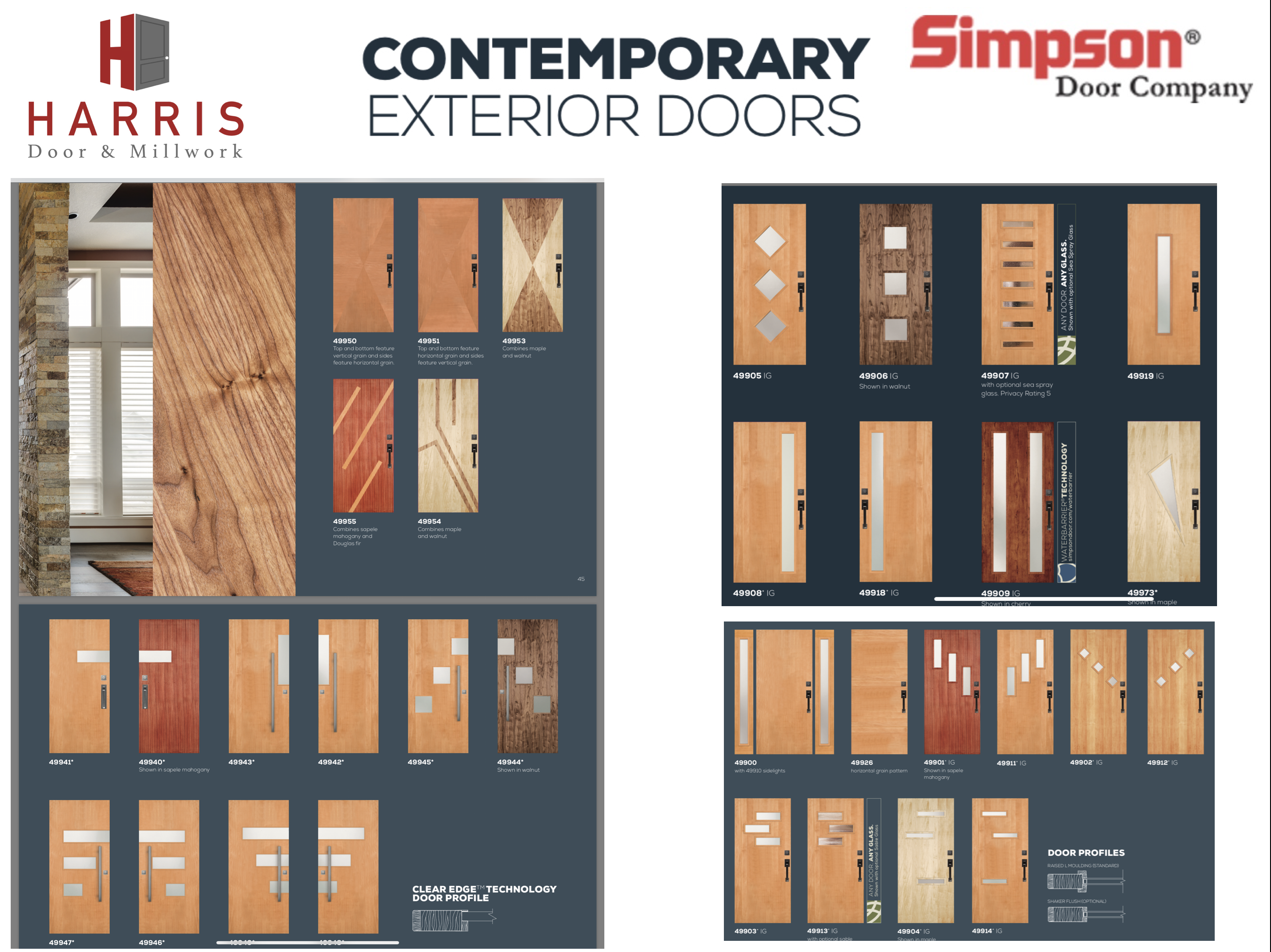 Simpson Contemporary Exterior Doors