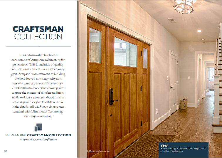 Click Here to View Our Craftsman Collection
