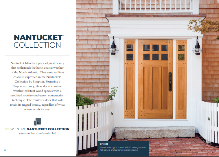Click Here to View Our Nantucket Door Collection