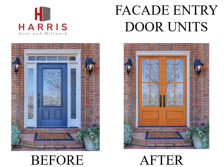Click Here to View our Facade Replacement Door Units