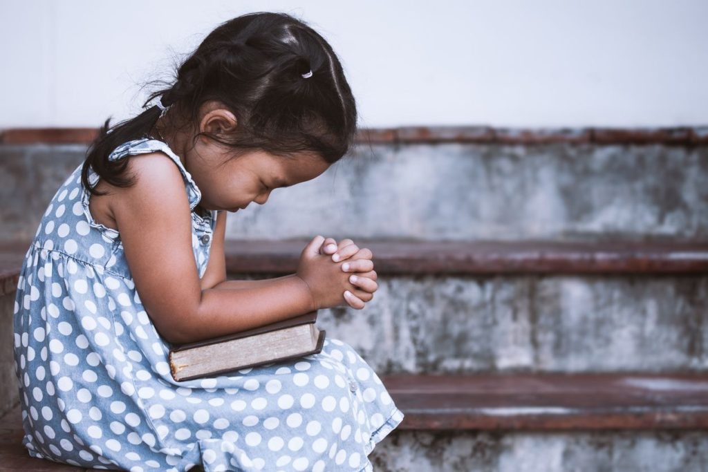 The sweet prayers of a child