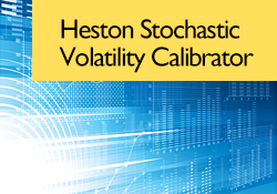 Heston Stochastic Volatility Calibrator