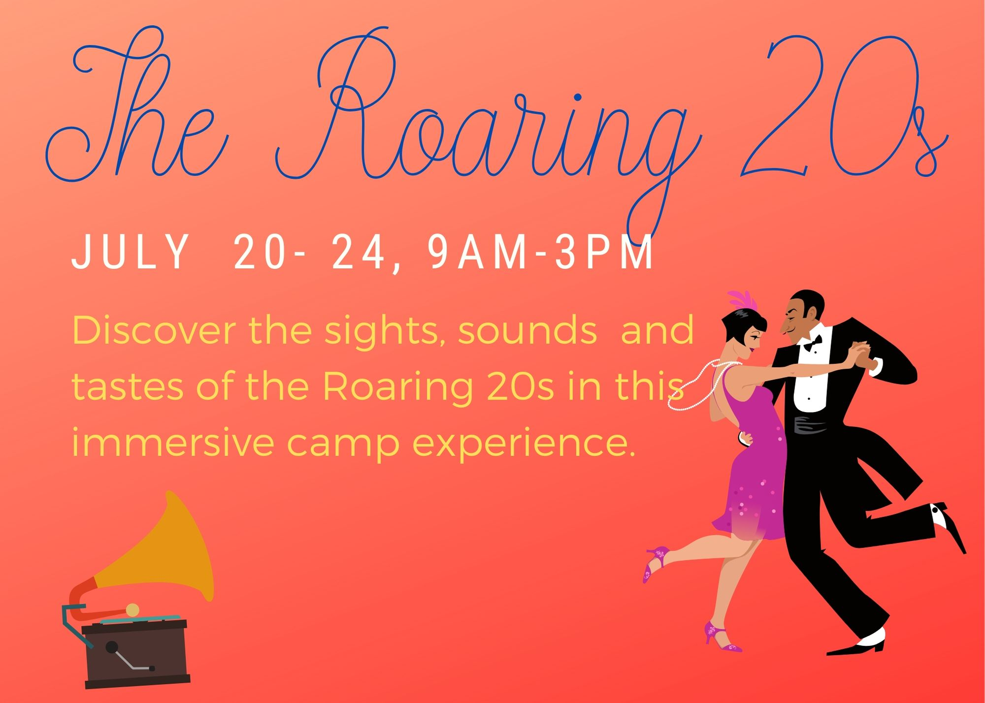 Roaring 20s Summer Camp Image