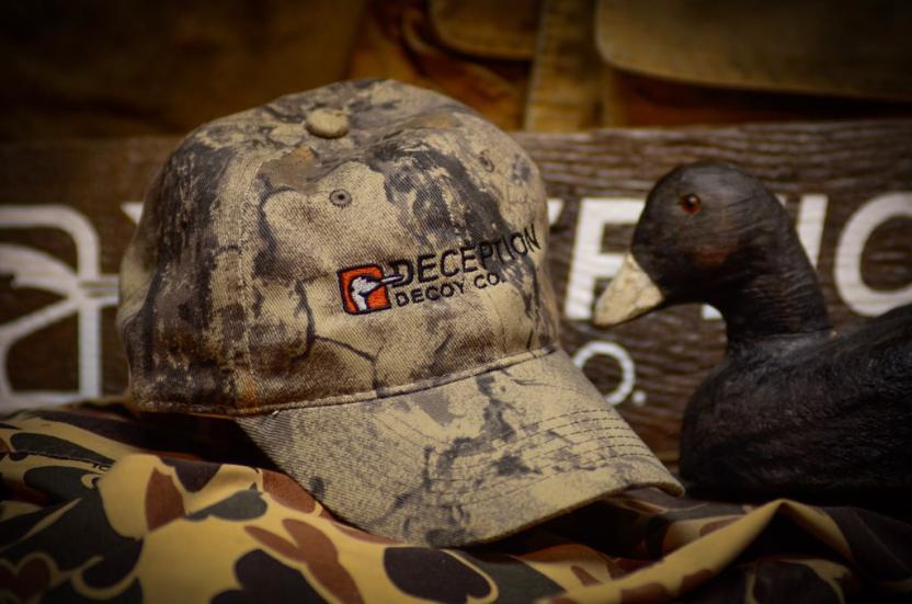 32061 - Wax Canvas Hat Deception Decoy Co. Logo