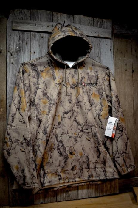 32111 - Natural Gear Camo Mid Weight Hoodie Deception Decoy Co. Logo