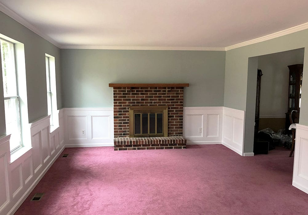 Wainscoting Installation After