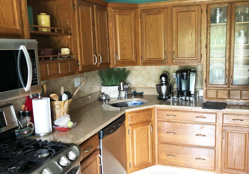 detailed cabinets [ainting before