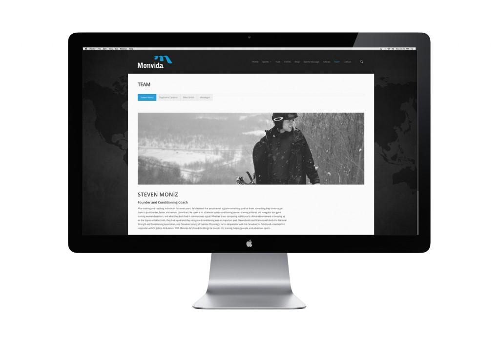 Monvida website