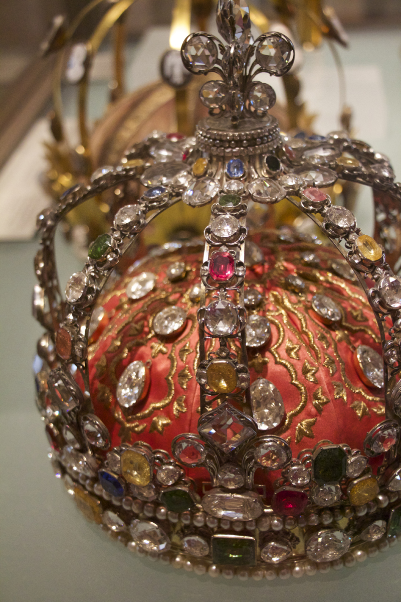 The crown of Louis XV at the Louvre