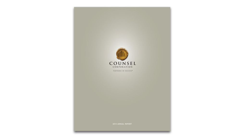 Counsel Corporation Annual Report