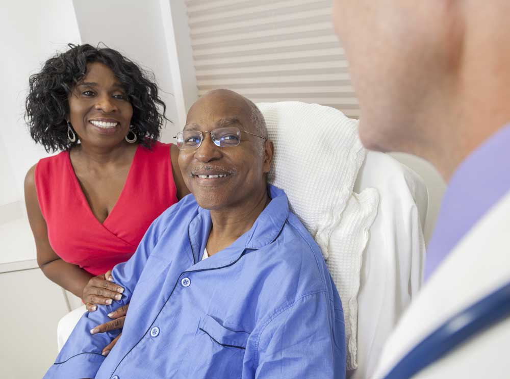 patient at Sugar Land Rehab