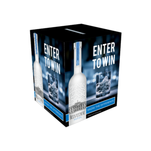 Belvedere Vodka_Corrugated Raffle Box