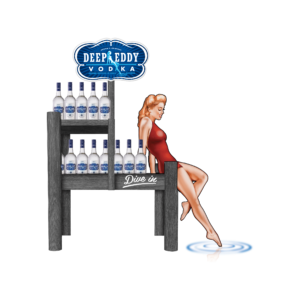 Deep Eddy Vodka_Dock Display