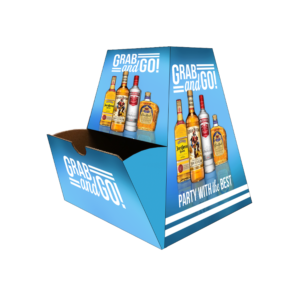 Diageo Spirits_50Ml Corrugated Counter Display copy