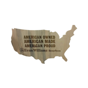 Evan Williams_Wooden Map Sign