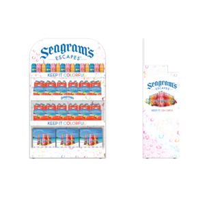 Seagram's Escapes_Rack