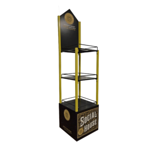 Social House Vodka_Metal Rack