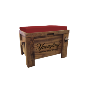 Yuengling_Wooden Cooler Bench