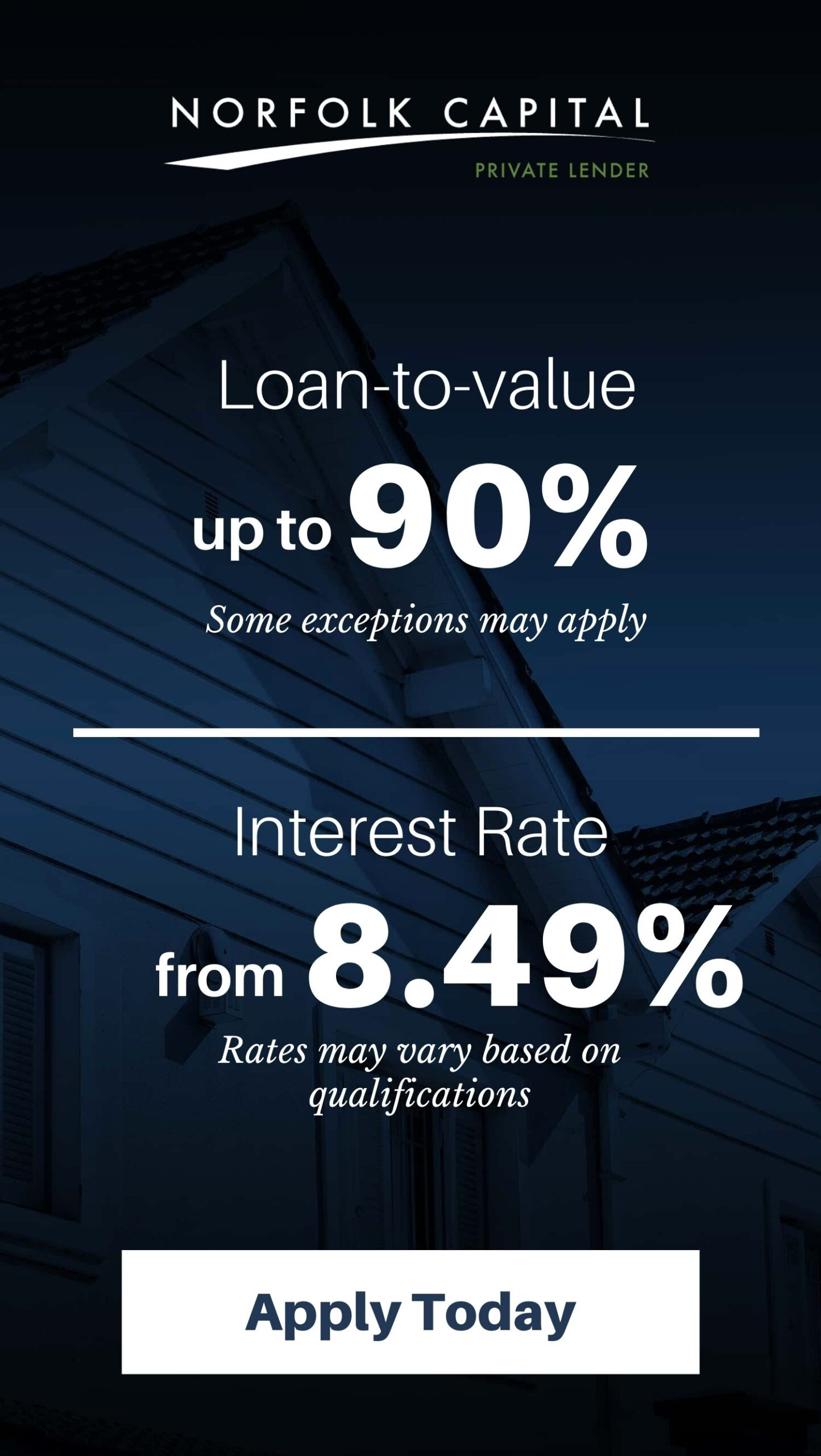 apply for a hard money loan | Norfolk Capital