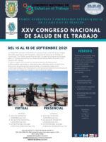 XXV Congreso Nacional de Salud en el Trabajo