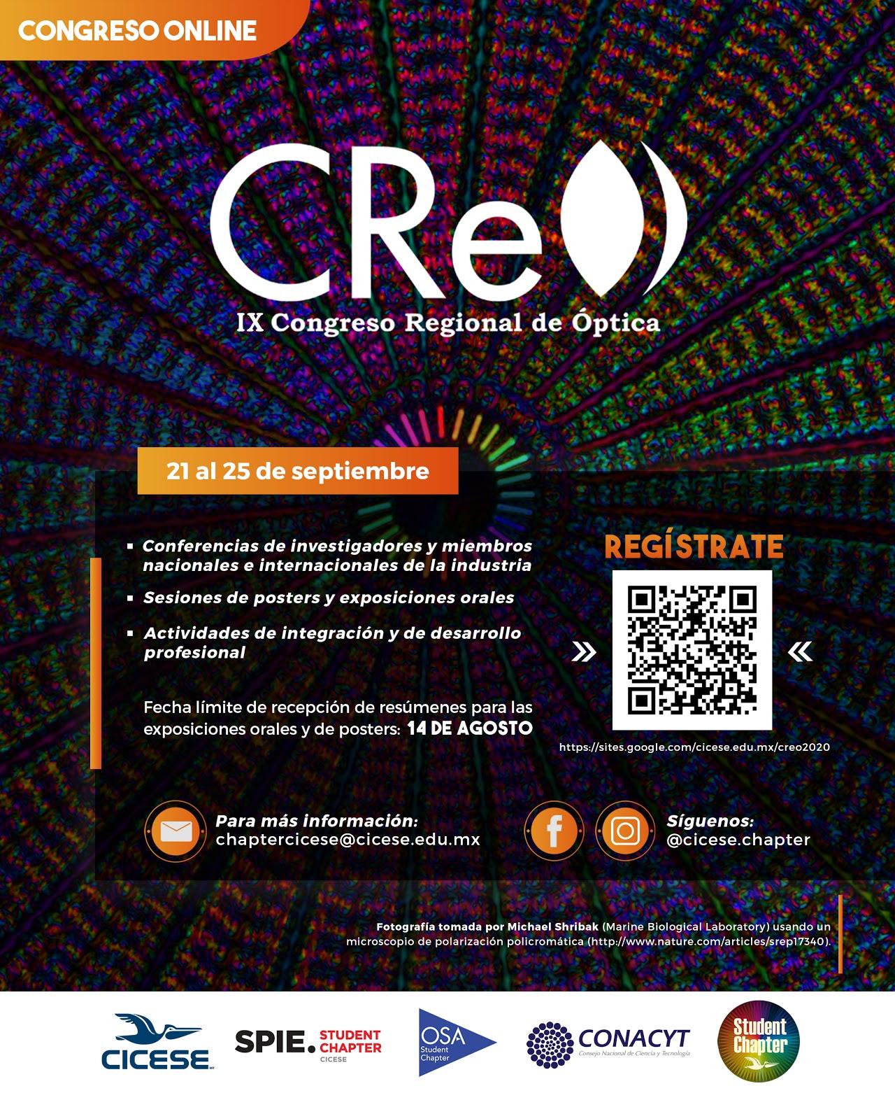 IX Congreso Regional de Óptica