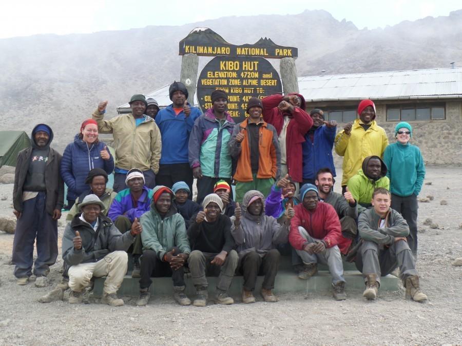 Our Kili crew