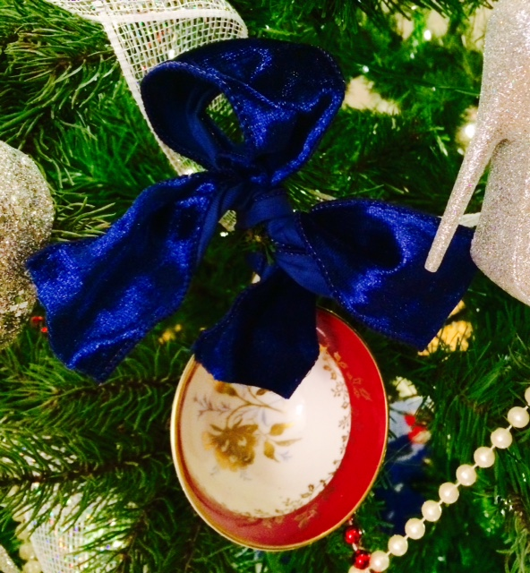 Teacup Ornament