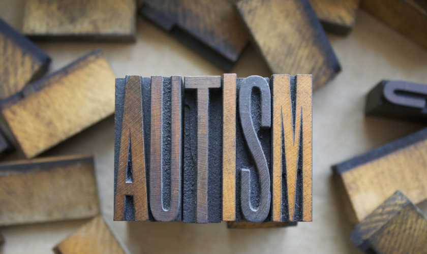 Autism Letterpress Type
