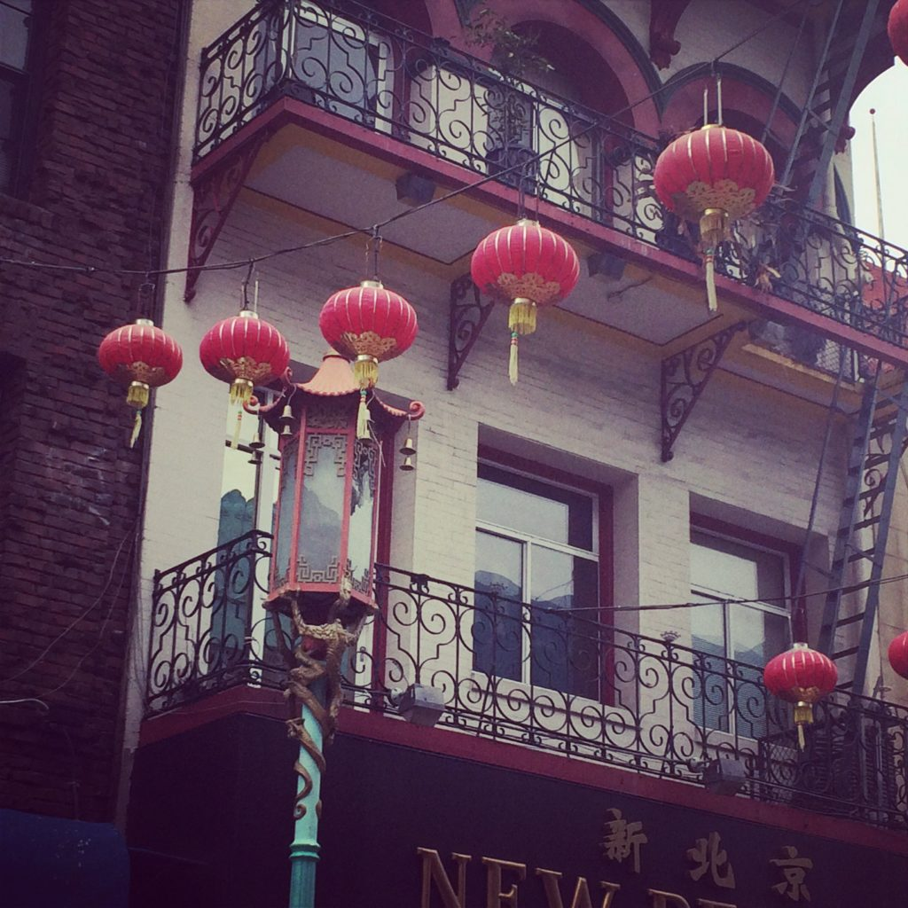 Lanterns in the heart of Chinatown