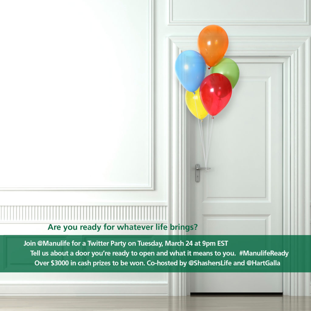 @Manulife Twitter Party - March 24th 9PM EST