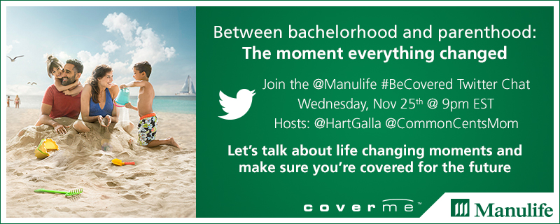 @Manulife Twitter Chat Co-Hosted by @CommonCentsMom and myself @HartGalla