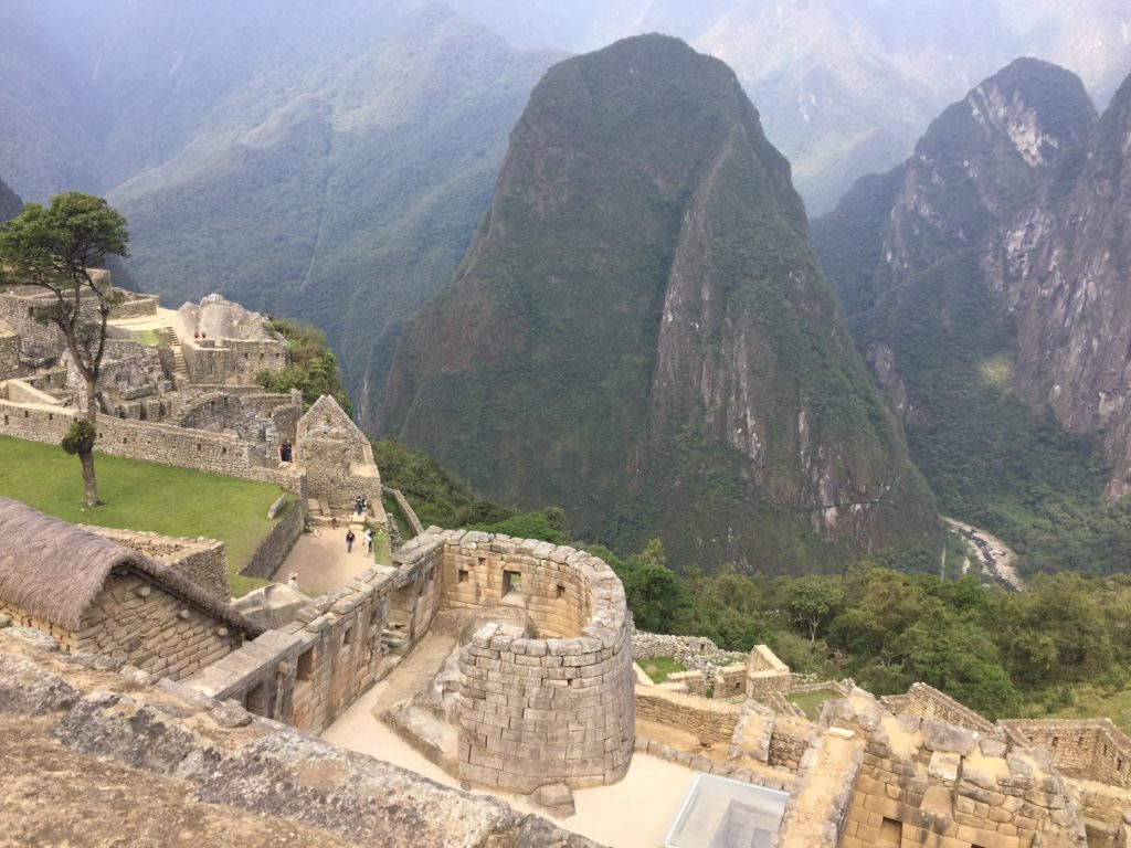 Machu Picchu is SUCH a sacred place but it feels very close to that sacred piece being hurt along the way