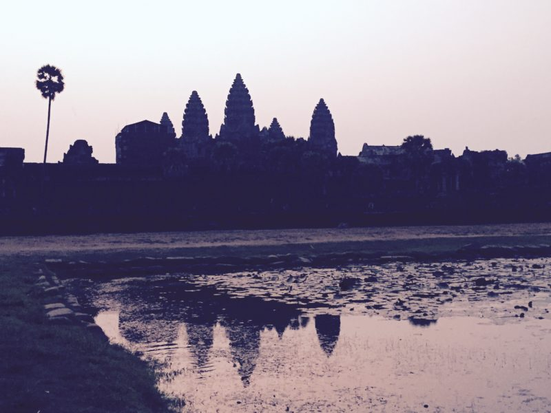 Sunrise at Angor Wat