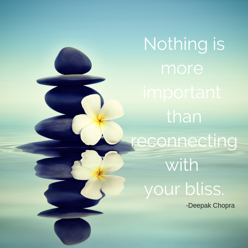 reconnecting with your bliss
