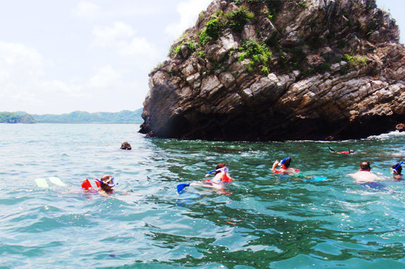 Tortuga snorkeling