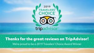 TripAdvisor Travelers Choice Award 2019
