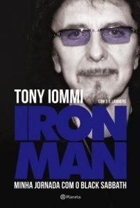 "Livro: ""Tony Iommi, Iron Man: Minha Jornada com Black Sabbath"""