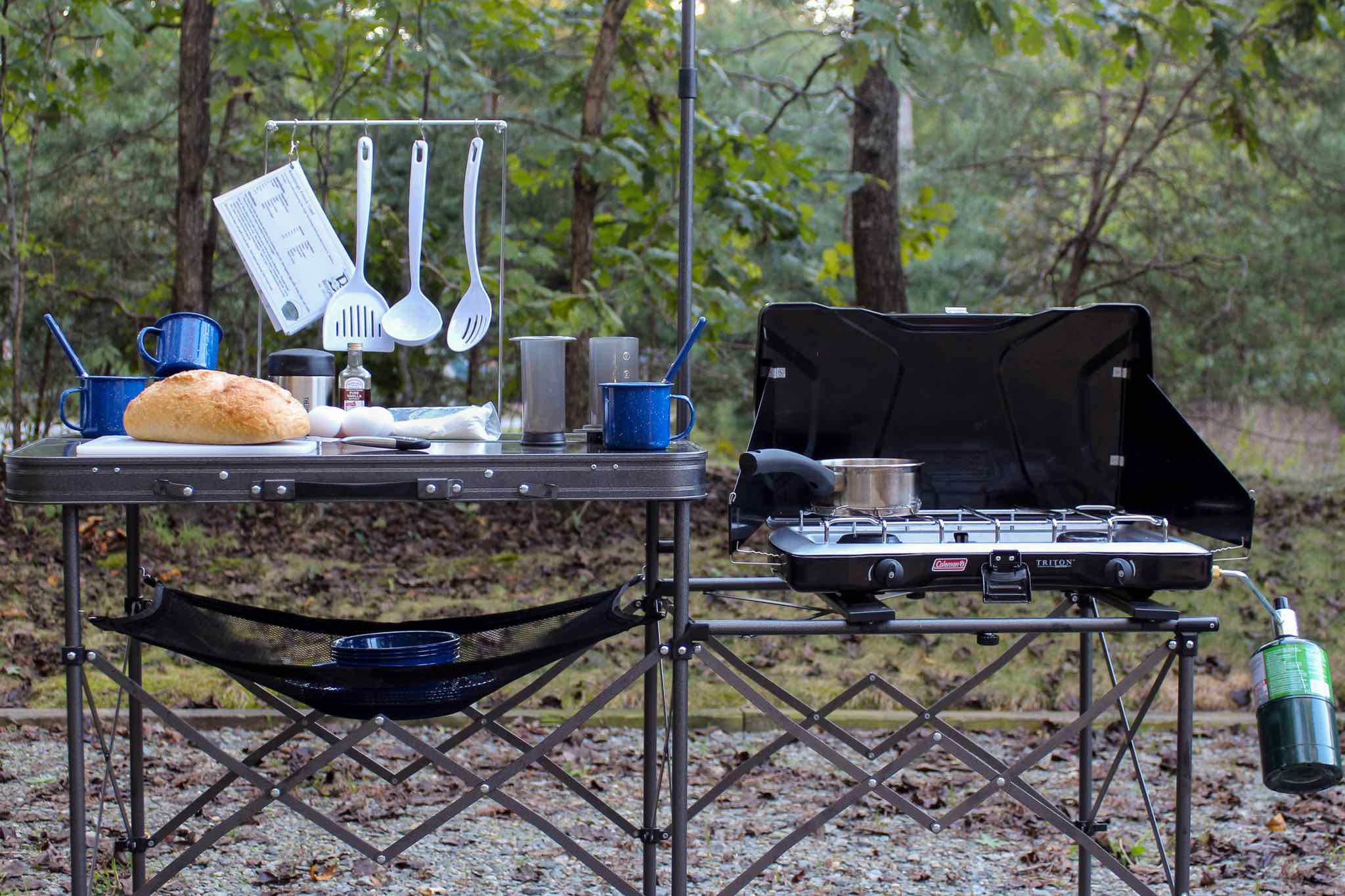 The Camping Weekend Part 1: The Camp Kitchen