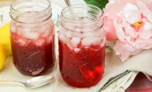 Sparkling Hibiscus Tea