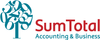 Logo sum total accounting and business