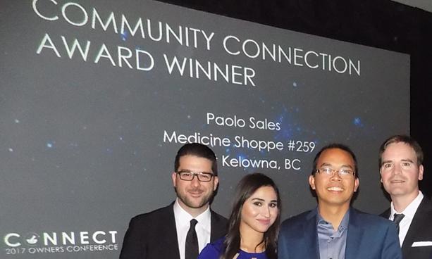 Community Connection Award Winner