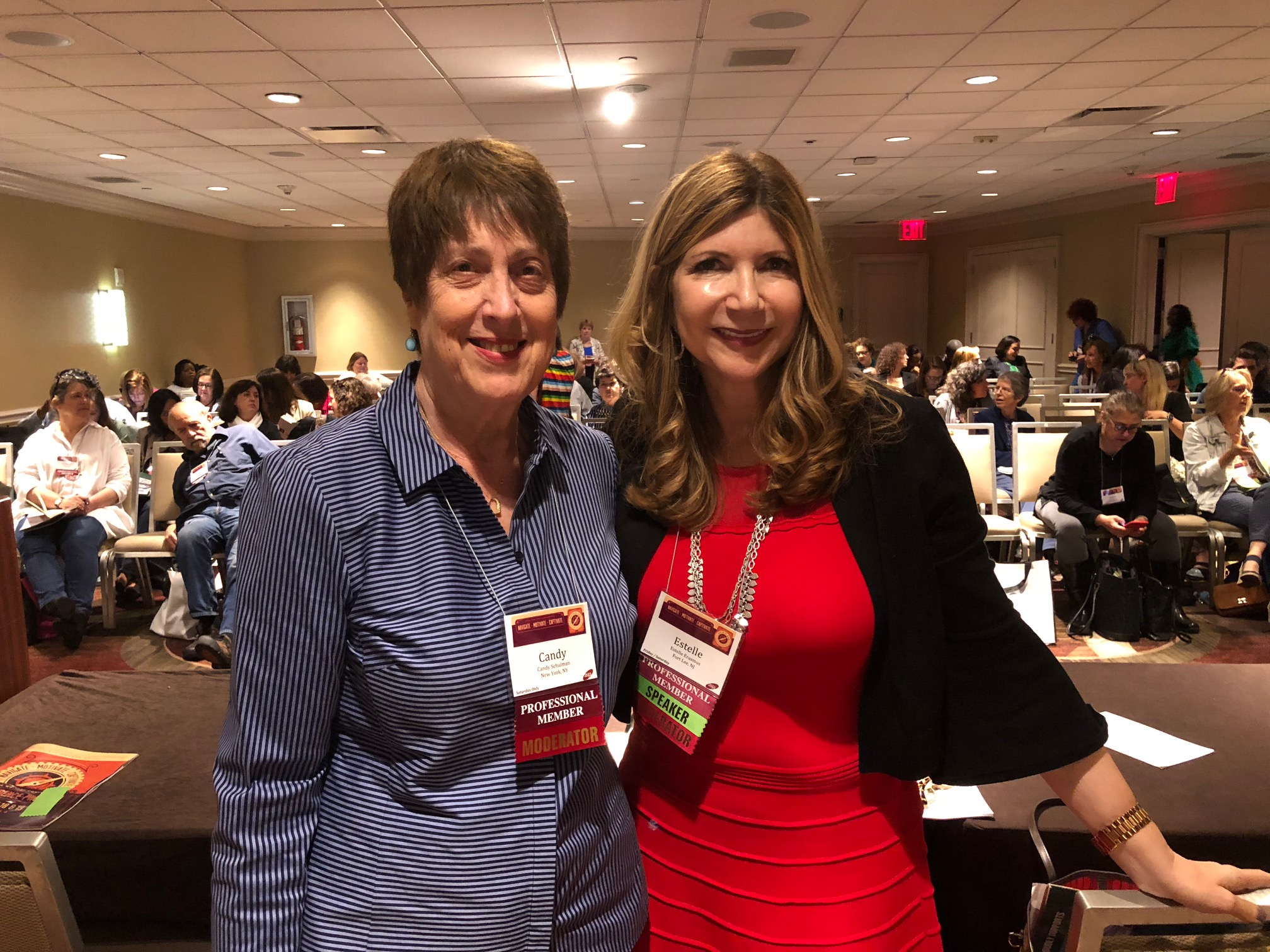 Me and Candy speaking at ASJA