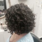 Short Curly Hair Cut
