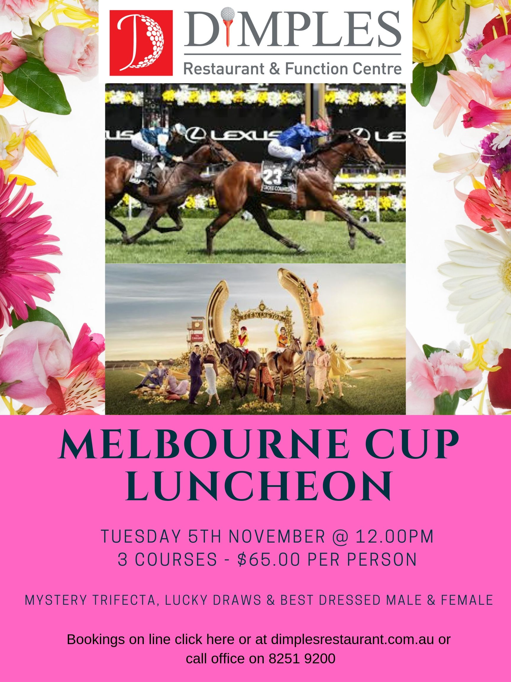 MELBOURNE CUP LUNCHEON (1)