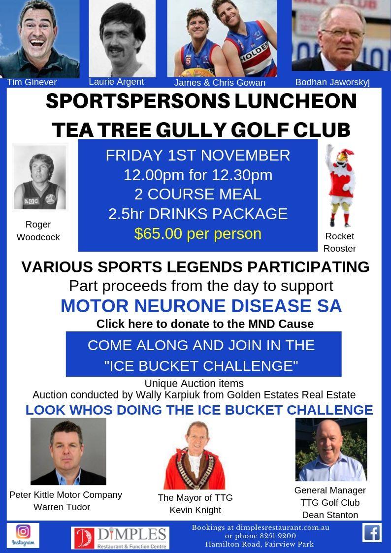 MND Sportsmans Luncheon