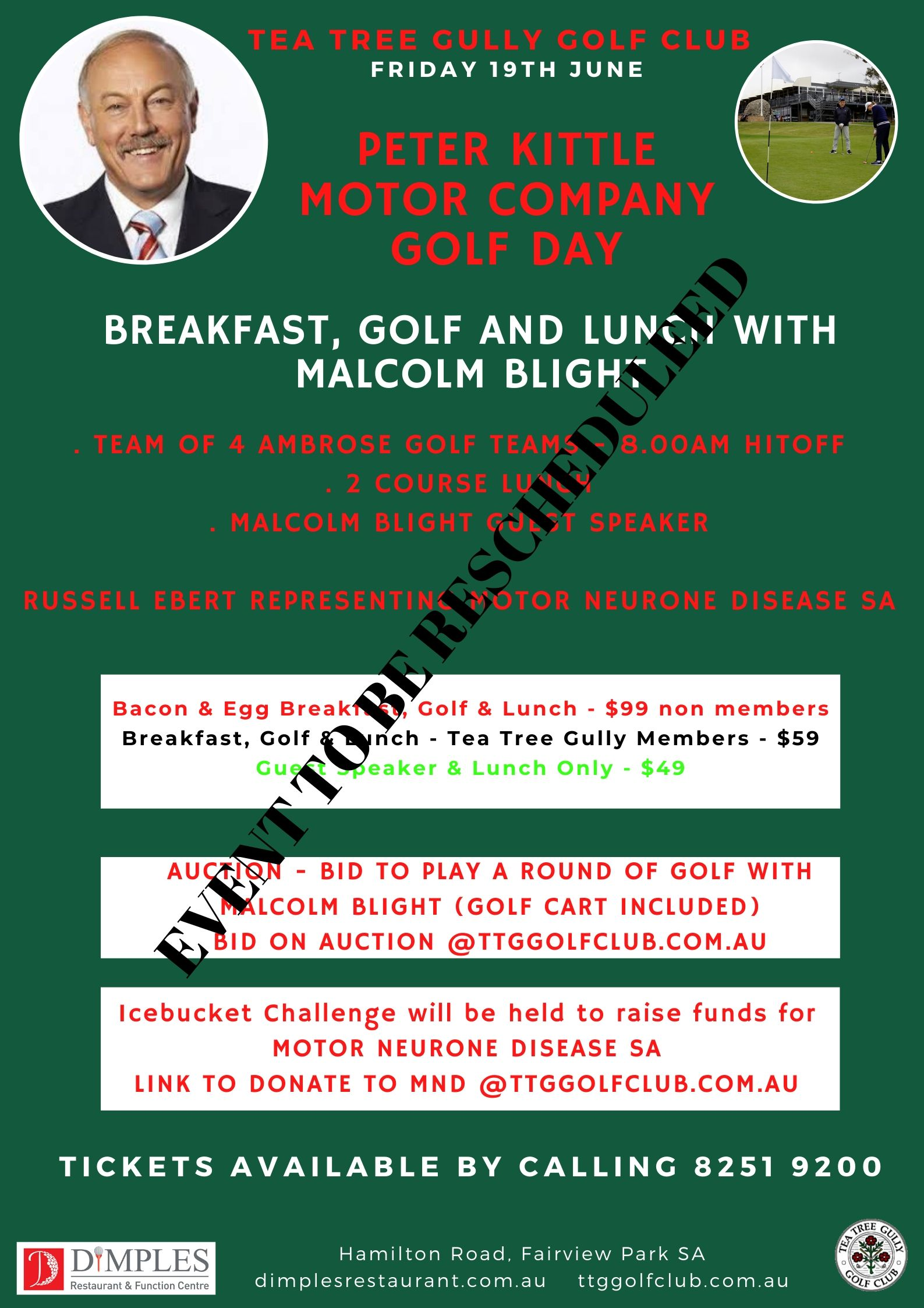 Golf & Malcolm Blight (1)