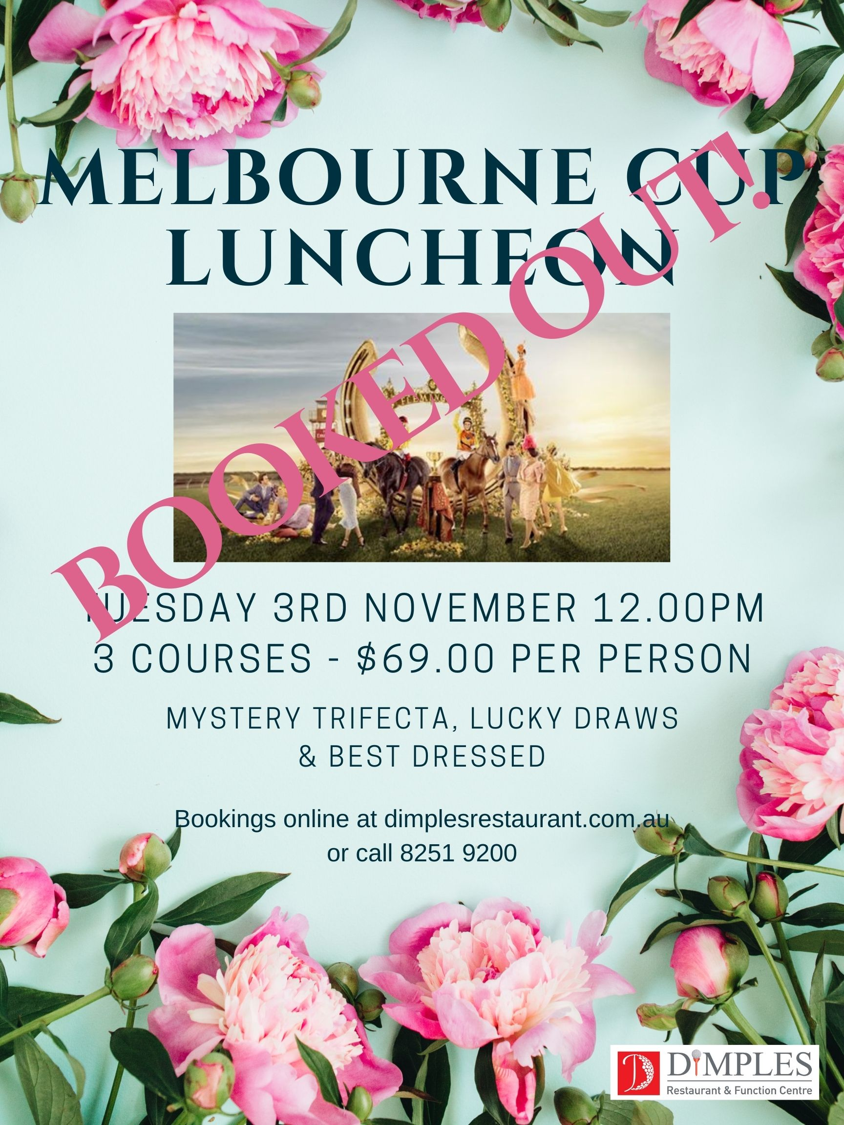 MELBOURNE CUP LUNCHEON 2020