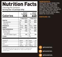 breakfast skillet nutrition facts