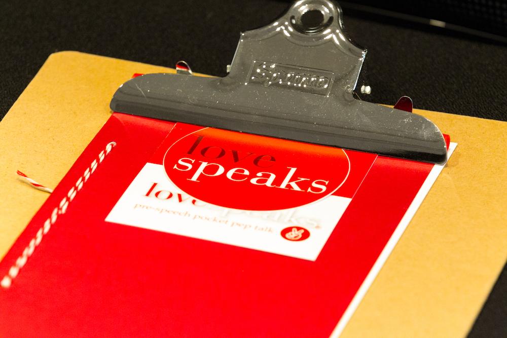 UnexpectedSpeaker red clipboard